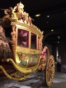 One of Napoleon's carriages.