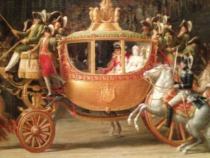 Here's the carriage in the same painting.