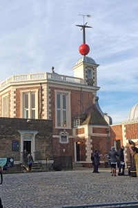 The original observatory at Greenwich where John Flamsteed spent much of his time.