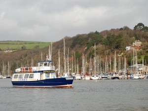 The passenger ferry between Dartmouth and Portswear.