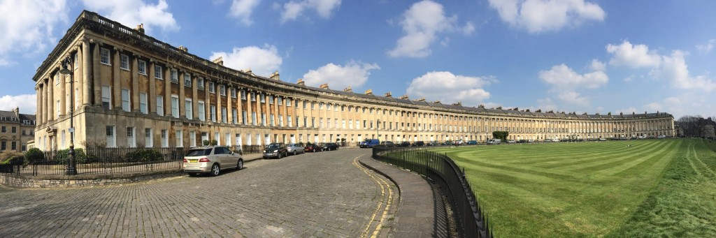 This place does have a hotel in the middle called The Royal Crescent, but is mostly personal flats.  An amazing building!