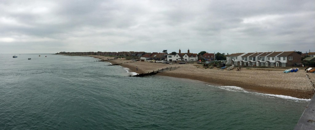 Thes coast view from Selsey.